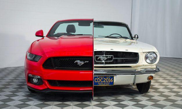 50 lat historii Forda Mustanga