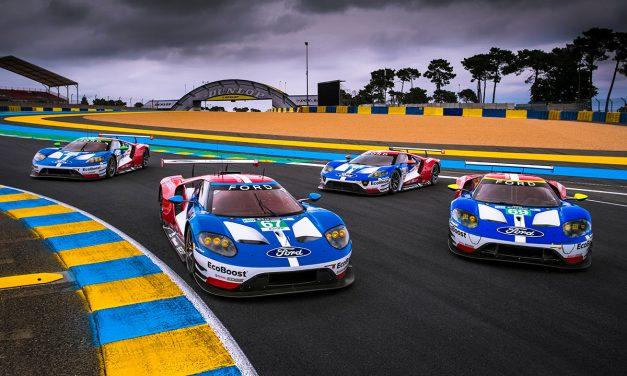 Ford broni tytułu w wyścigu 24 Le Mans