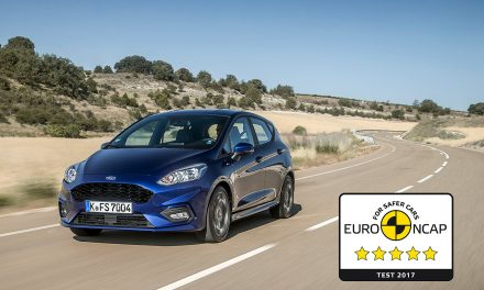 Nowa Fiesta zdobywa 5-gwiazdek w testach EURO NCAP
