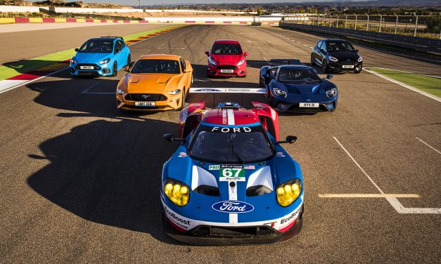 Osiem modeli Forda, ośmiu kierowców – wyjątkowy wyścig!