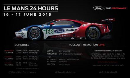 Ekipa Forda gotowa do najtrudniejszego wyścigu w sezonie – 24H Le Mans.